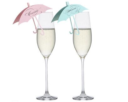 Umbrella Place Cards