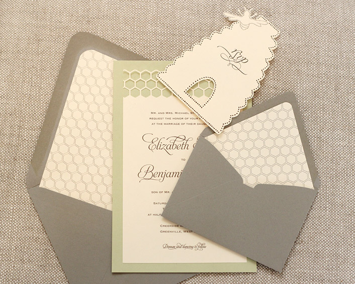 bumble bee invitations timeless paper