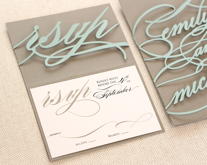 monogram invitations timeless paper